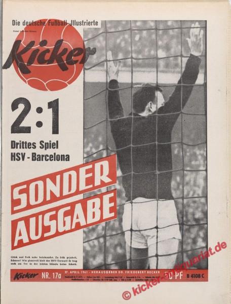 Kicker Nr. 17A, 27.4.1961 bis 3.5.1961