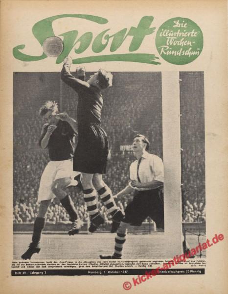 Sportmagazin Nr. 39, 1.10.1947 bis 7.10.1947