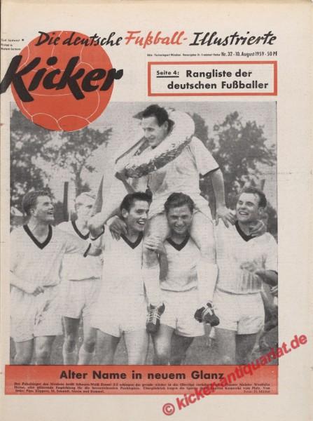 Kicker Nr. 32, 10.8.1959 bis 16.8.1959