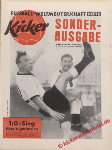 Kicker Nr. 24A, 20.6.1958 bis 26.6.1958