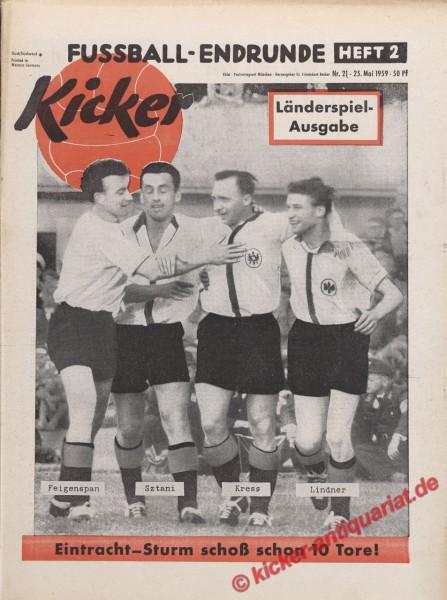 Kicker Nr. 21, 25.5.1959 bis 31.5.1959