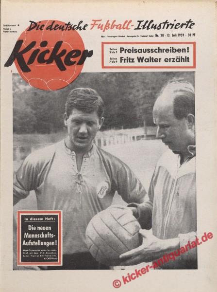Kicker Nr. 28, 13.7.1959 bis 19.7.1959