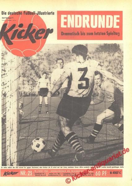 Kicker Nr. 23, 10.6.1963 bis 16.6.1963