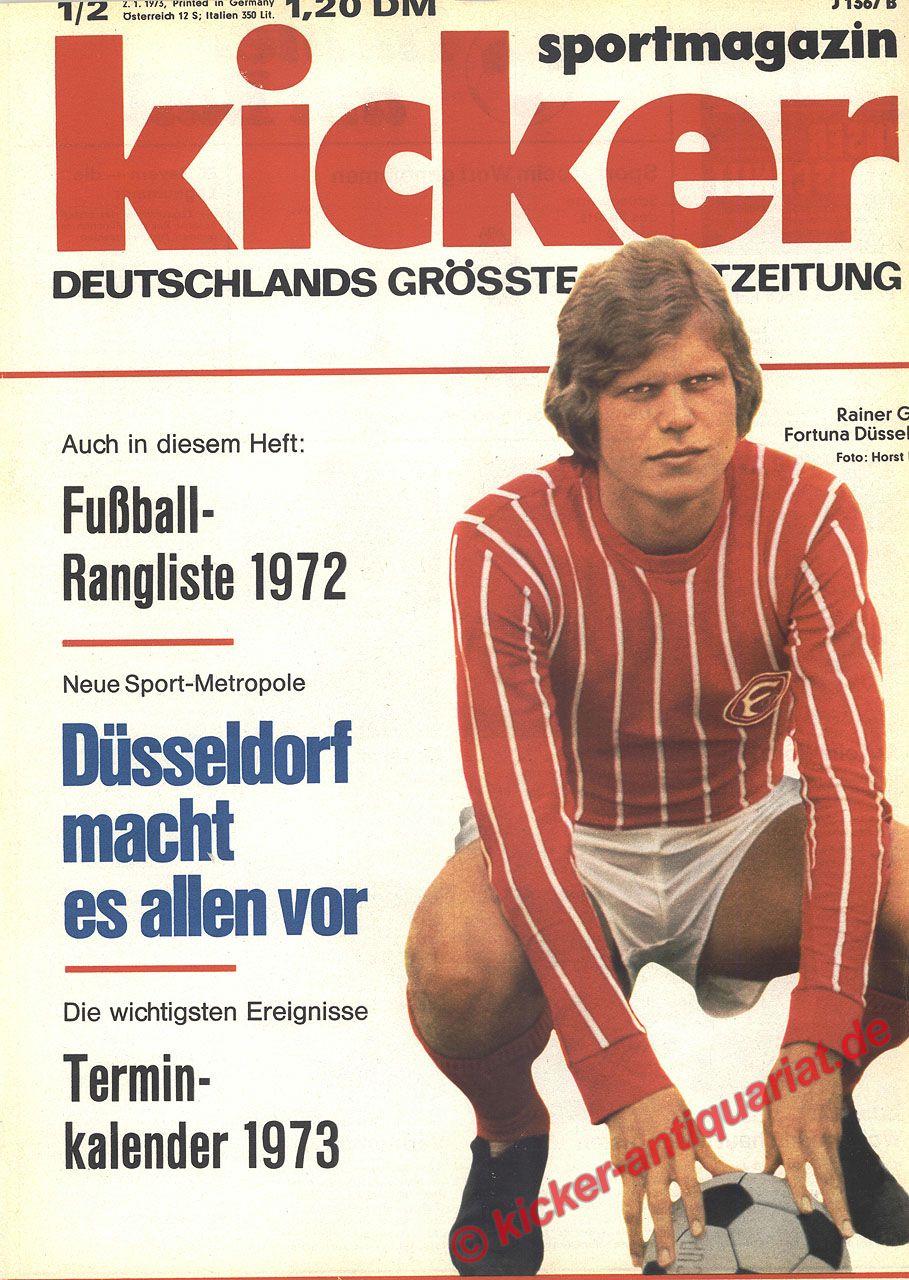 Kicker Sportzeitschrift
