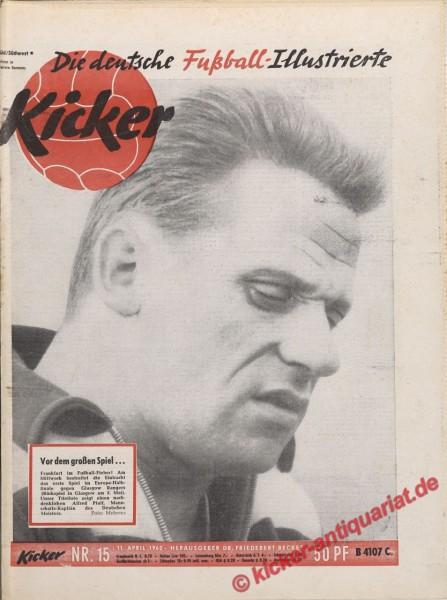 Kicker Nr. 15, 11.4.1960 bis 17.4.1960