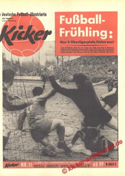 Kicker Nr. 11, 18.3.1963 bis 24.3.1963