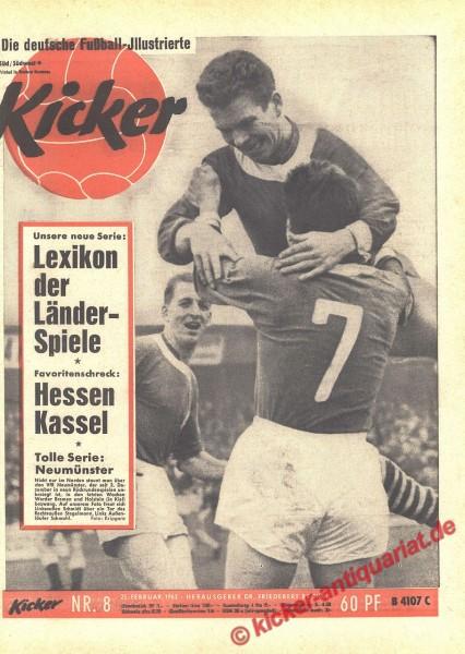Kicker Nr. 8, 25.2.1963 bis 3.3.1963
