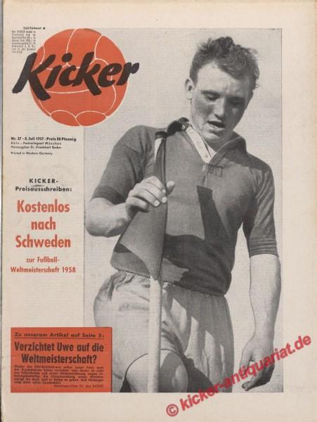 Kicker Nr. 27, 8.7.1957 bis 14.7.1957
