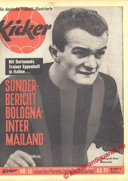 Kicker Nr. 13, 30.3.1964 bis 5.4.1964