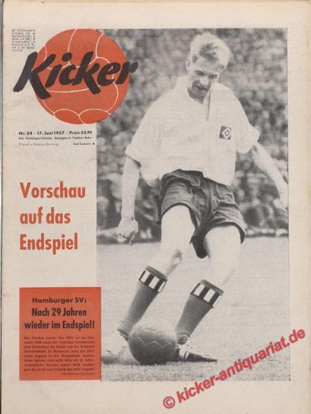 Kicker Nr. 24, 17.6.1957 bis 23.6.1957