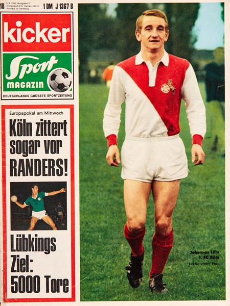 Kicker Sportmagazin Nr. 18, 3.3.1969 bis 9.3.1969