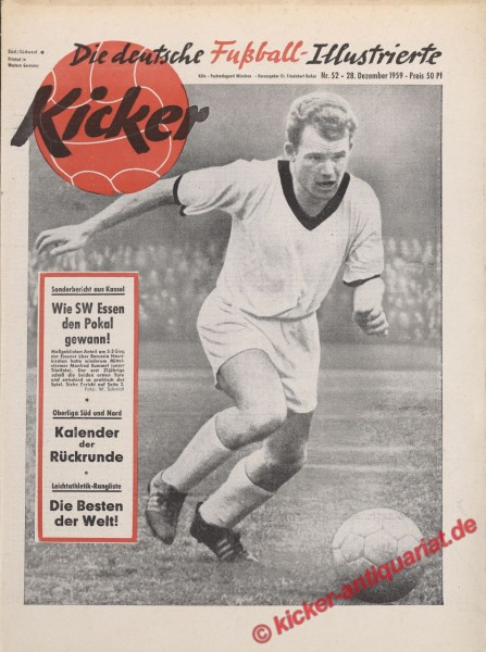 Kicker Nr. 52, 28.12.1959 bis 3.1.1960