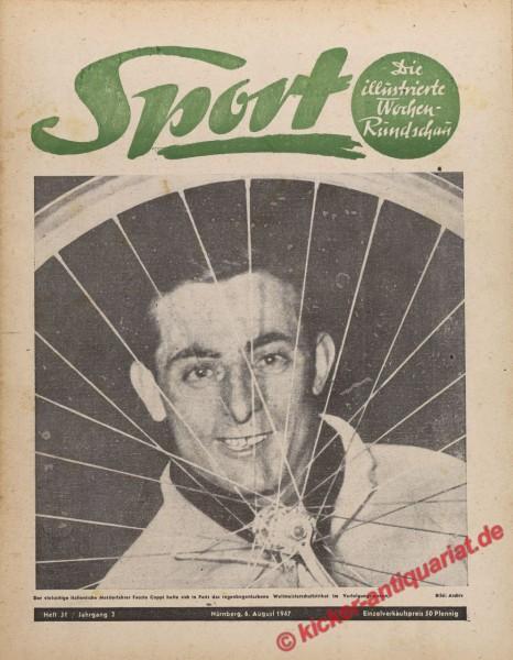 Sportmagazin Nr. 31, 6.8.1947 bis 12.8.1947