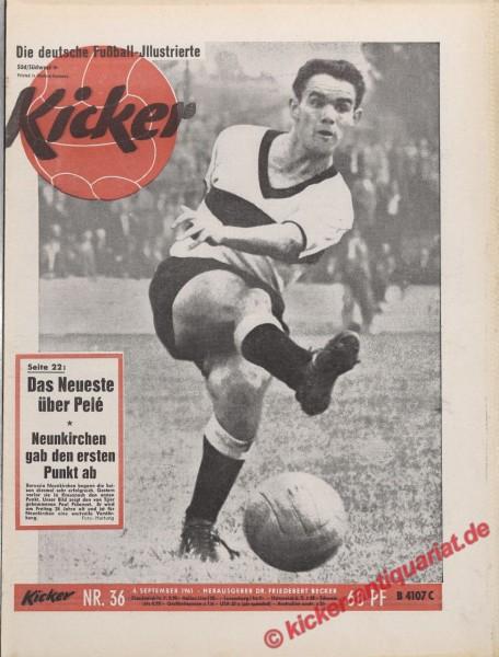 Kicker Nr. 36, 4.9.1961 bis 10.9.1961