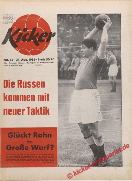 Kicker Nr. 35, 27.8.1956 bis 2.9.1956