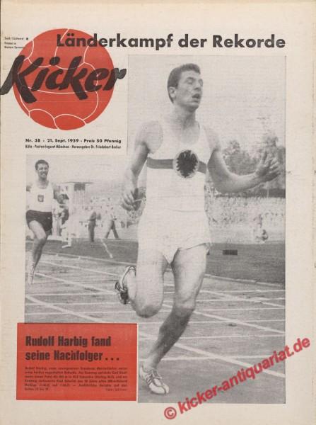 Kicker Nr. 38, 21.9.1959 bis 27.9.1959