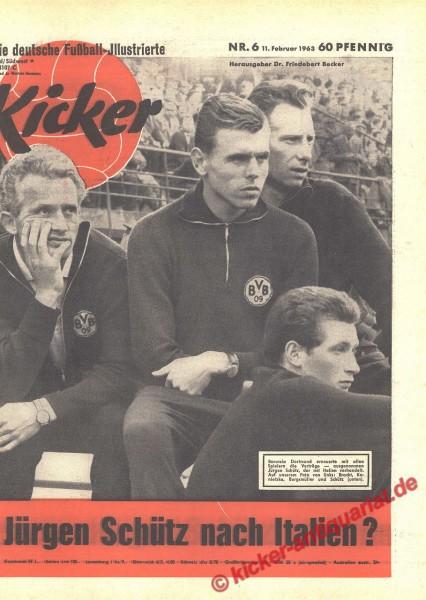 Kicker Nr. 6, 11.2.1963 bis 17.2.1963