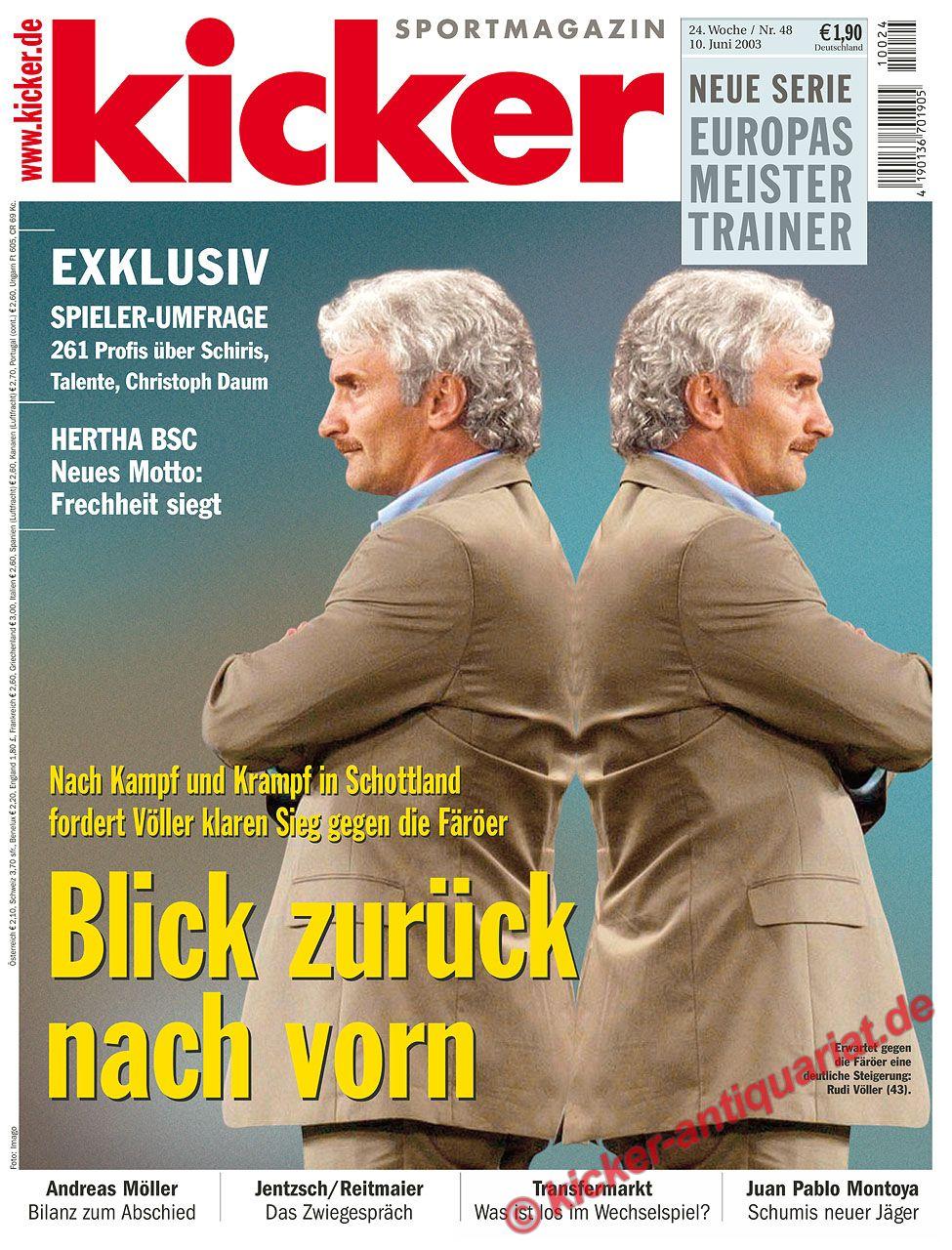 Kicker Zeitung