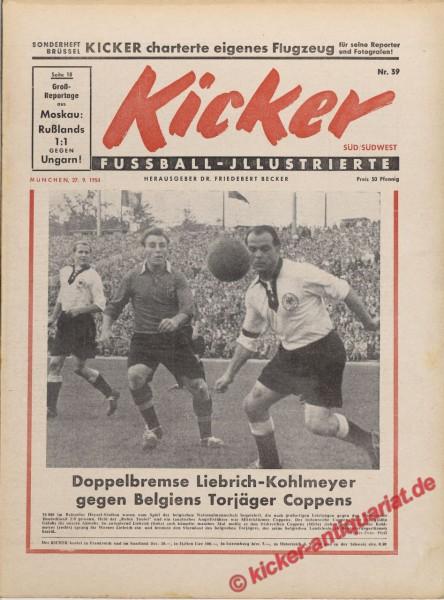 Kicker Nr. 39, 27.9.1954 bis 3.10.1954