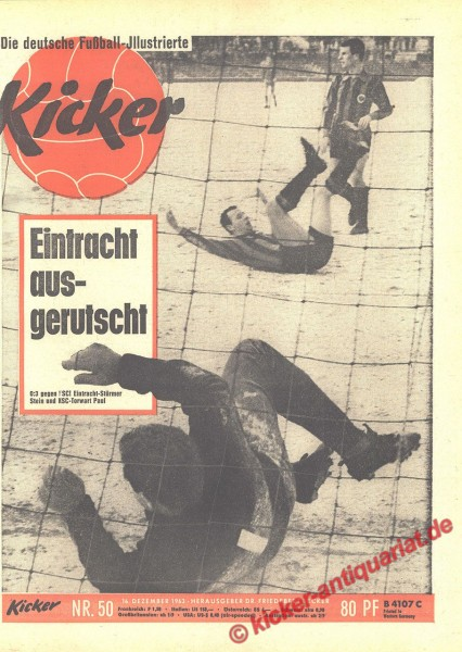 Kicker Nr. 50, 16.12.1963 bis 22.12.1963