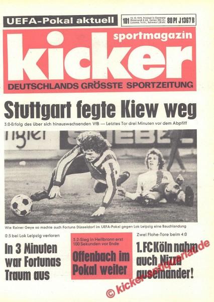 Kicker Sportmagazin Nr. 101, 13.12.1973 bis 19.12.1973