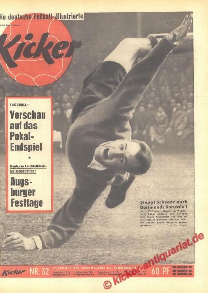 Kicker Nr. 32, 12.8.1963 bis 18.8.1963