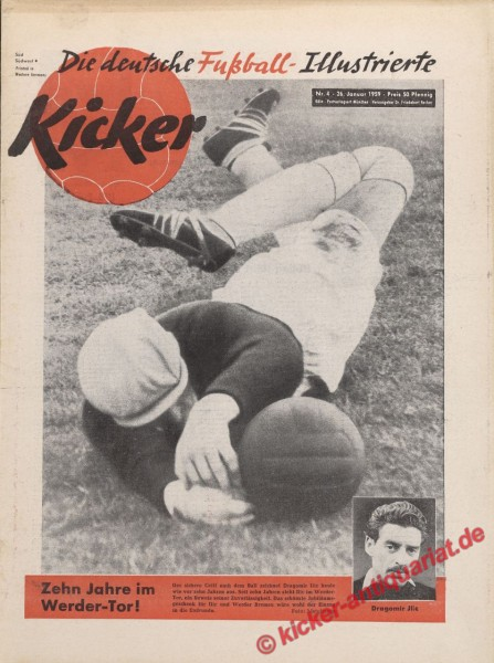 Kicker Nr. 4, 26.1.1959 bis 1.2.1959