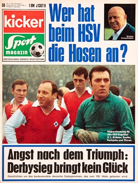 Kicker Sportmagazin Nr. 50, 23.6.1969 bis 29.6.1969