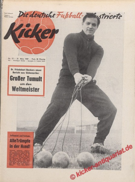 Kicker Nr. 13, 31.3.1959 bis 6.4.1959