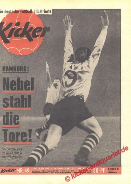 Kicker Nr. 49, 9.12.1963 bis 15.12.1963