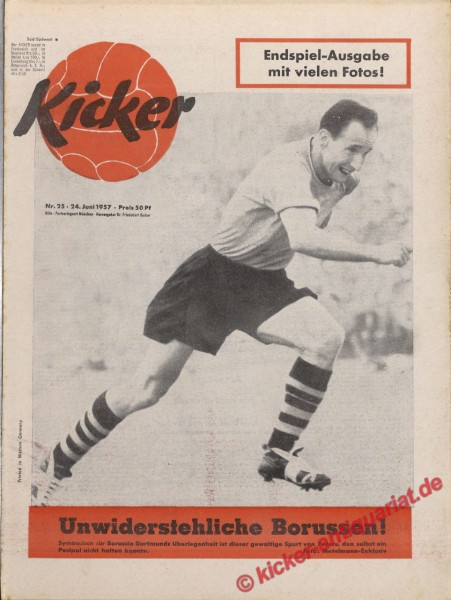 Kicker Nr. 25, 24.6.1957 bis 30.6.1957