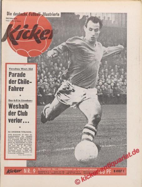 Kicker Nr. 9, 1.3.1962 bis 7.3.1962