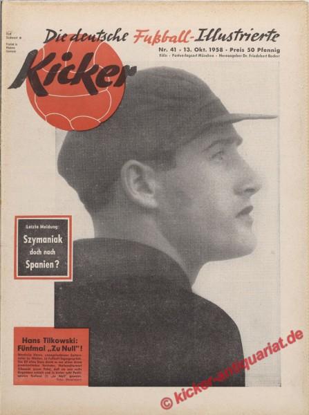 Kicker Nr. 41, 13.10.1958 bis 19.10.1958