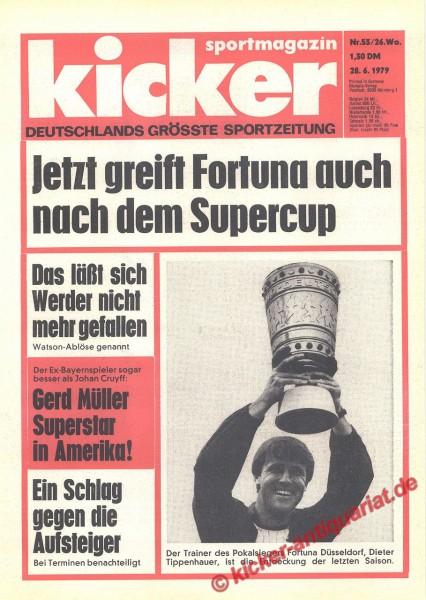 Kicker Sportmagazin Nr. 53, 28.6.1979 bis 4.7.1979