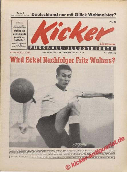 Kicker Nr. 28, 12.7.1954 bis 18.7.1954