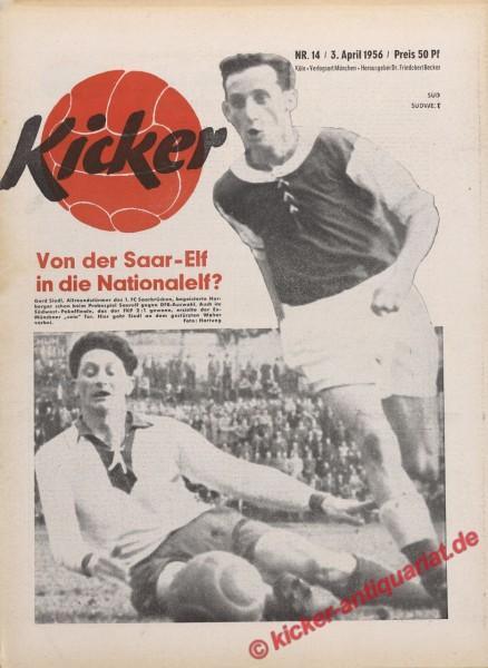 Kicker Nr. 14, 3.4.1956 bis 9.4.1956