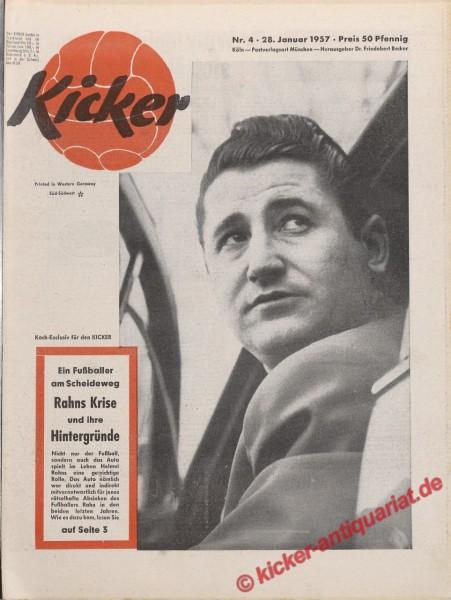 Kicker Nr. 4, 28.1.1957 bis 3.2.1957