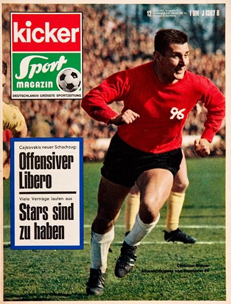 Kicker Sportmagazin Nr. 12, 10.2.1969 bis 16.2.1969