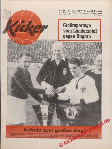 Kicker Nr. 51, 23.12.1957 bis 29.12.1957
