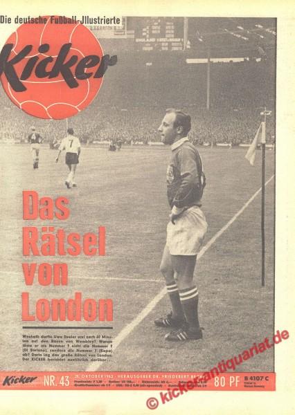 Kicker Nr. 43, 28.10.1963 bis 3.11.1963