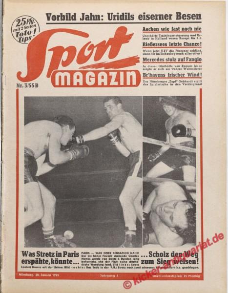 Sportmagazin Nr. 3B, 20.1.1955 bis 26.1.1955