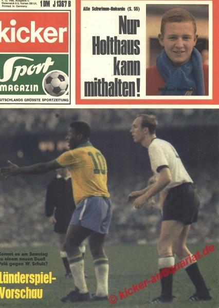 Kicker Sportmagazin Nr. 99, 9.12.1968 bis 15.12.1968
