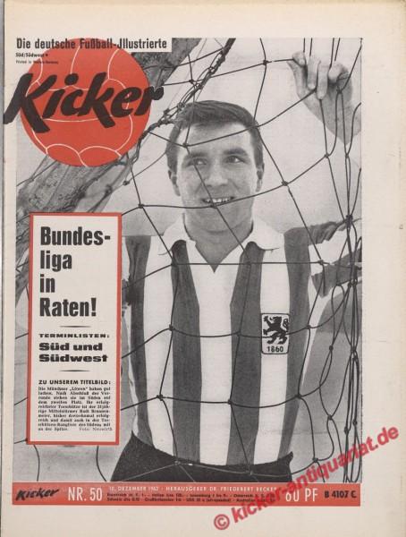 Kicker Nr. 50, 10.12.1962 bis 16.12.1962