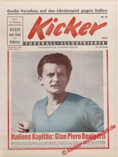Kicker Nr. 13, 30.3.1955 bis 5.4.1955