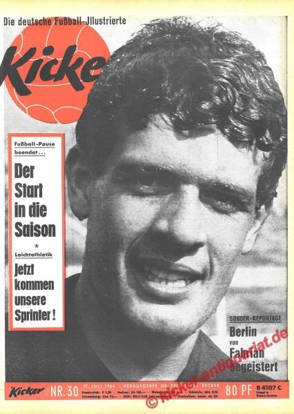 Kicker Nr. 30, 27.7.1964 bis 2.8.1964
