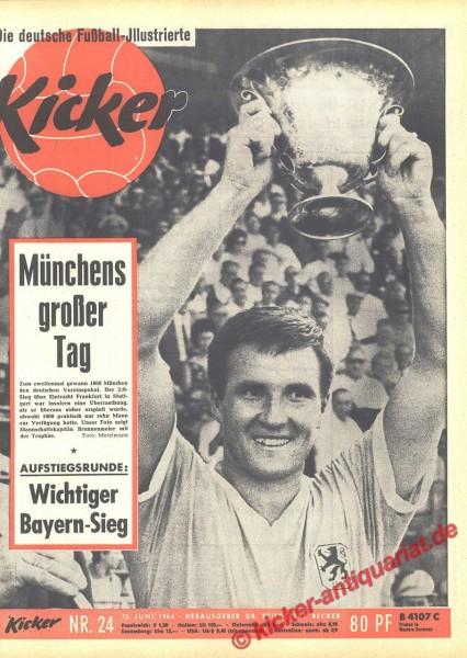 Kicker Nr. 24, 15.6.1964 bis 21.6.1964