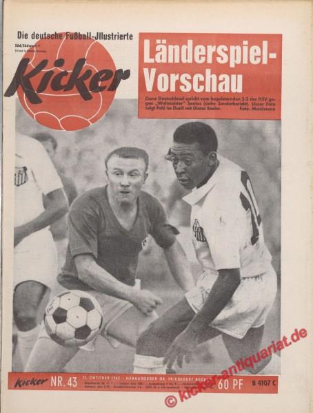 Kicker Nr. 43, 22.10.1962 bis 28.10.1962