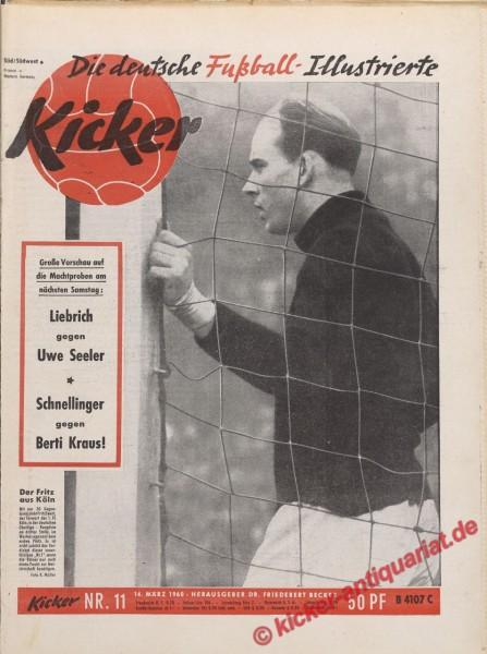 Kicker Nr. 11, 14.3.1960 bis 20.3.1960