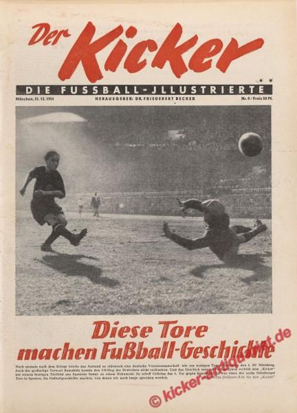 Kicker Nr. 4, 31.12.1951 bis 6.1.1952