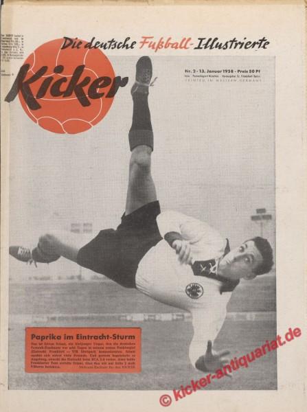 Kicker Nr. 2, 13.1.1958 bis 19.1.1958